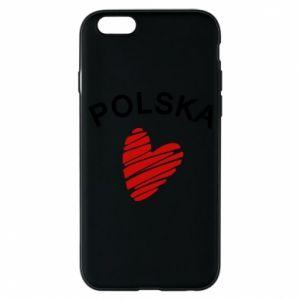 Etui na iPhone 6/6S Serce Polska