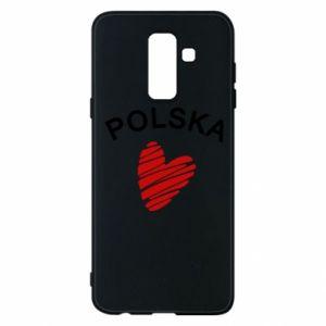 Etui na Samsung A6+ 2018 Serce Polska