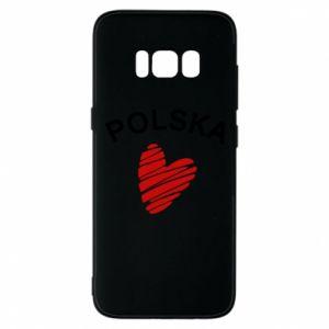 Etui na Samsung S8 Serce Polska