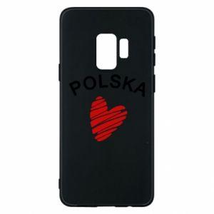 Etui na Samsung S9 Serce Polska