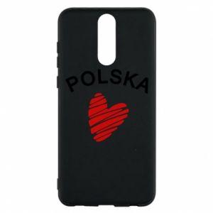 Etui na Huawei Mate 10 Lite Serce Polska