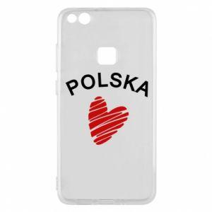 Etui na Huawei P10 Lite Serce Polska