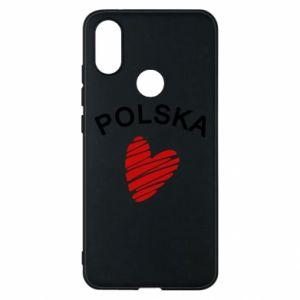 Etui na Xiaomi Mi A2 Serce Polska