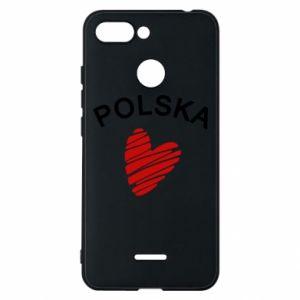 Etui na Xiaomi Redmi 6 Serce Polska