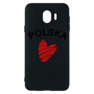 Etui na Samsung J4 Serce Polska
