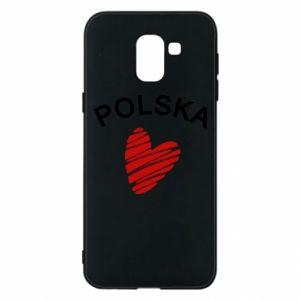 Etui na Samsung J6 Serce Polska