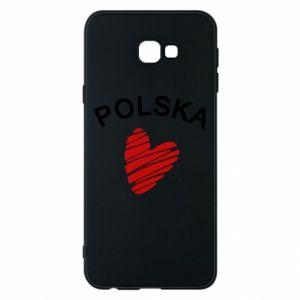 Etui na Samsung J4 Plus 2018 Serce Polska