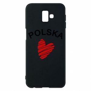 Etui na Samsung J6 Plus 2018 Serce Polska