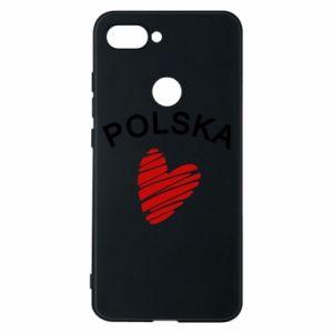 Etui na Xiaomi Mi8 Lite Serce Polska