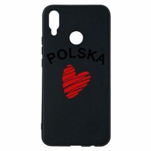 Etui na Huawei P Smart Plus Serce Polska