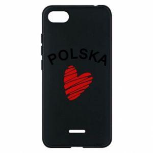 Etui na Xiaomi Redmi 6A Serce Polska