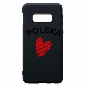 Etui na Samsung S10e Serce Polska