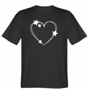 T-shirt Heart with stars