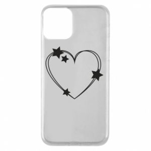 iPhone 11 Case Heart with stars