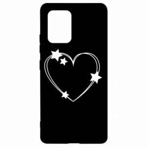 Samsung S10 Lite Case Heart with stars
