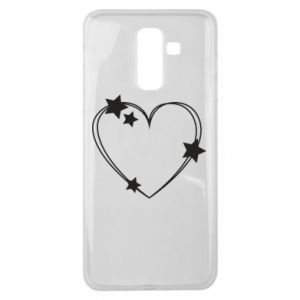 Samsung J8 2018 Case Heart with stars