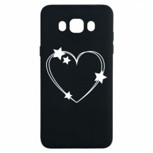 Samsung J7 2016 Case Heart with stars