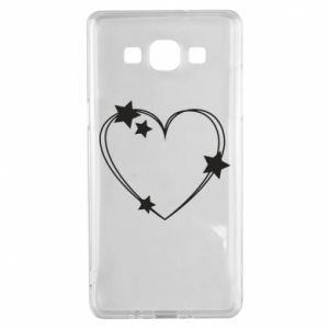 Samsung A5 2015 Case Heart with stars