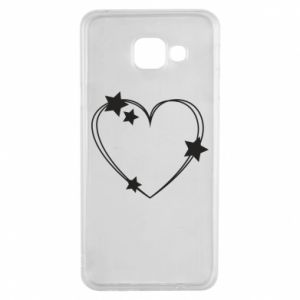 Samsung A3 2016 Case Heart with stars