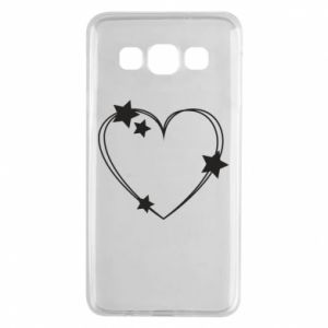 Samsung A3 2015 Case Heart with stars