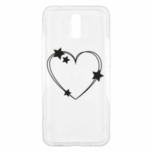 Nokia 2.3 Case Heart with stars