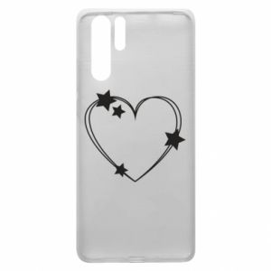 Huawei P30 Pro Case Heart with stars