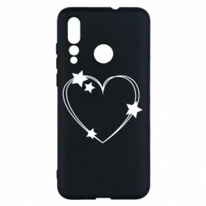 Huawei Nova 4 Case Heart with stars