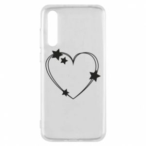 Huawei P20 Pro Case Heart with stars