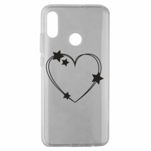 Huawei Honor 10 Lite Case Heart with stars