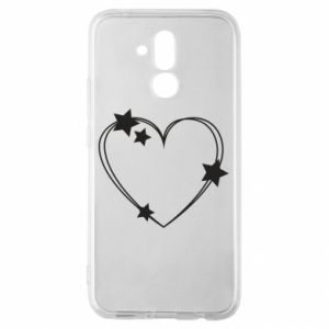 Huawei Mate 20Lite Case Heart with stars