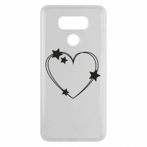 LG G6 Case Heart with stars