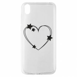 Huawei Y5 2019 Case Heart with stars