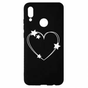 Huawei P Smart 2019 Case Heart with stars
