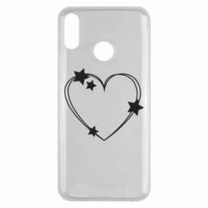 Huawei Y9 2019 Case Heart with stars
