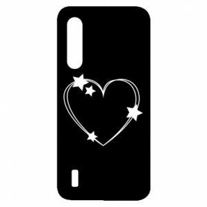 Etui na Xiaomi Mi9 Lite Serce z gwiazdami