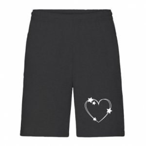 Men's shorts Heart with stars
