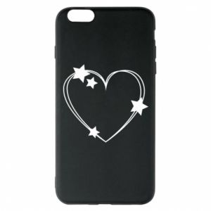 iPhone 6 Plus/6S Plus Case Heart with stars