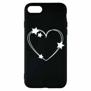 iPhone 7 Case Heart with stars