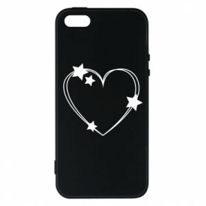iPhone 5/5S/SE Case Heart with stars