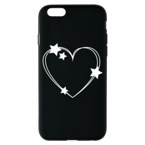 iPhone 6/6S Case Heart with stars