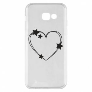 Samsung A5 2017 Case Heart with stars