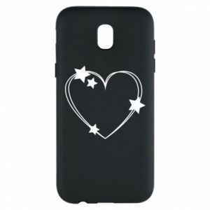 Samsung J5 2017 Case Heart with stars