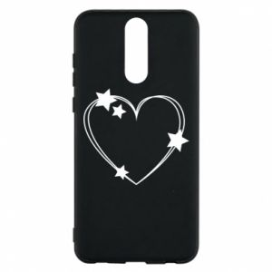 Huawei Mate 10 Lite Case Heart with stars