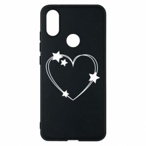 Xiaomi Mi A2 Case Heart with stars
