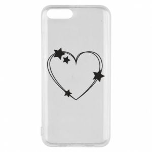 Xiaomi Mi6 Case Heart with stars