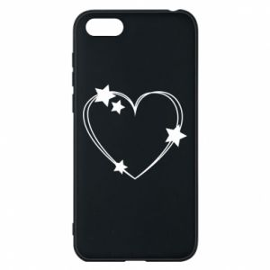 Huawei Y5 2018 Case Heart with stars