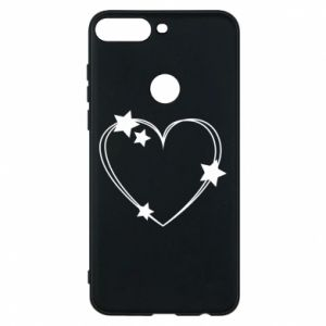 Huawei Y7 Prime 2018 Case Heart with stars