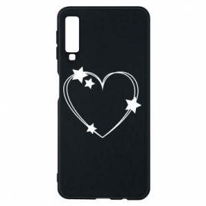 Samsung A7 2018 Case Heart with stars