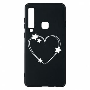 Samsung A9 2018 Case Heart with stars