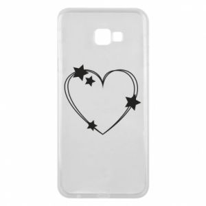 Samsung J4 Plus 2018 Case Heart with stars
